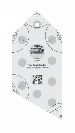 CREATIVE GRIDS ANGLE FINDER8 X 3.5 CGRAF