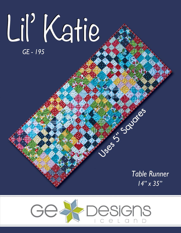 Lil' Katie Table Runner Pattern    GE-195