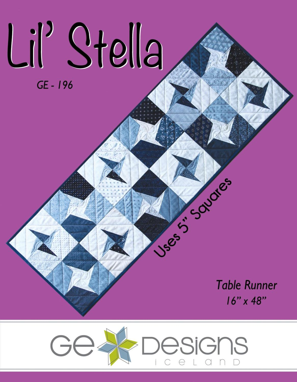 Lil' Stella Table Runner Pattern    GE-196