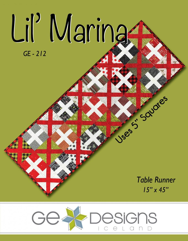 Lil' Marina Table Runner Pattern   GE212