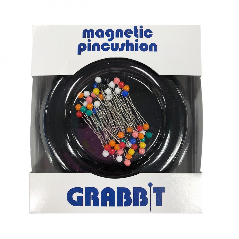 Grabbit Magnetic Pincushion - Black    GRABITBLK