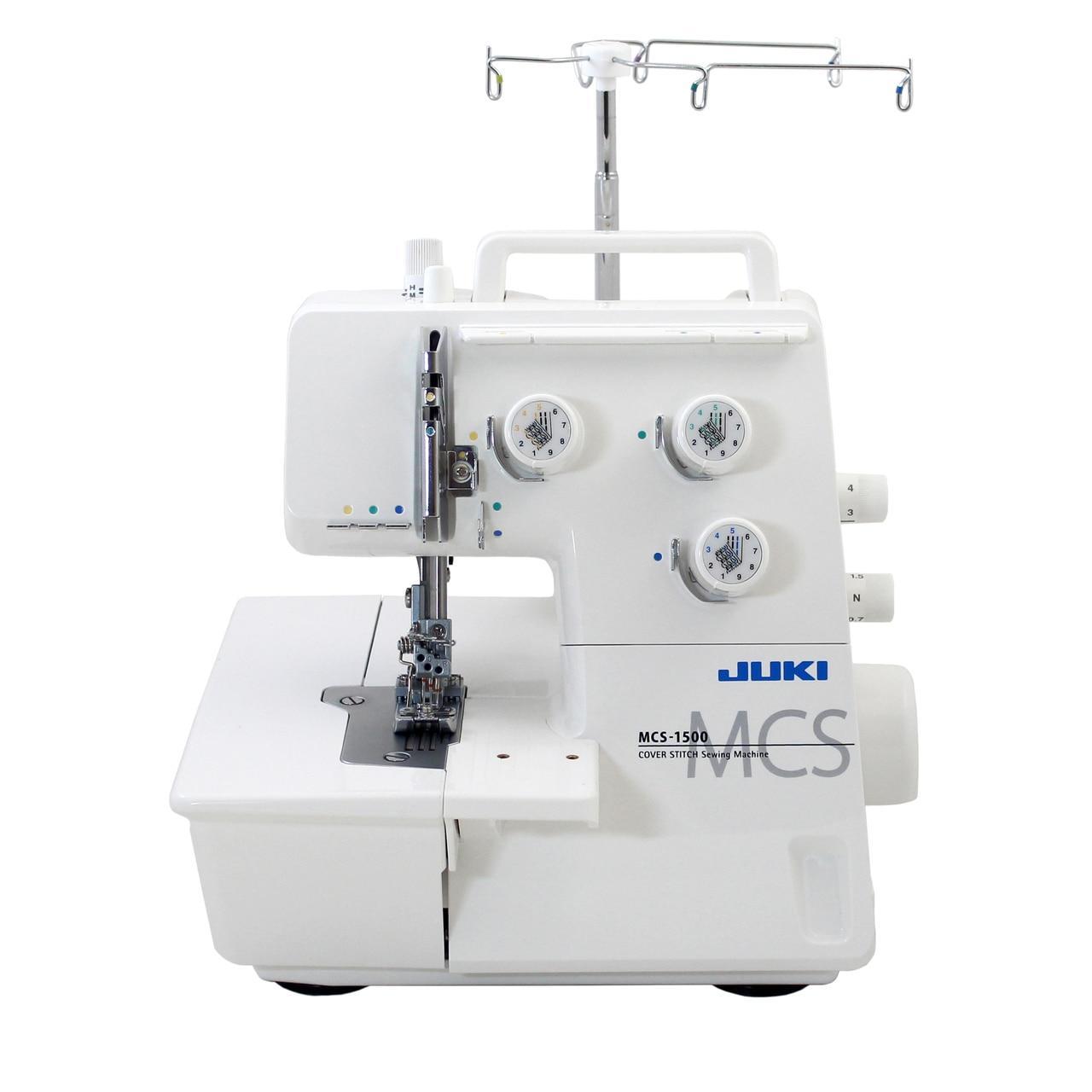 JUKI MCS-1500 COVER & CHAINSTITCH MACHINE