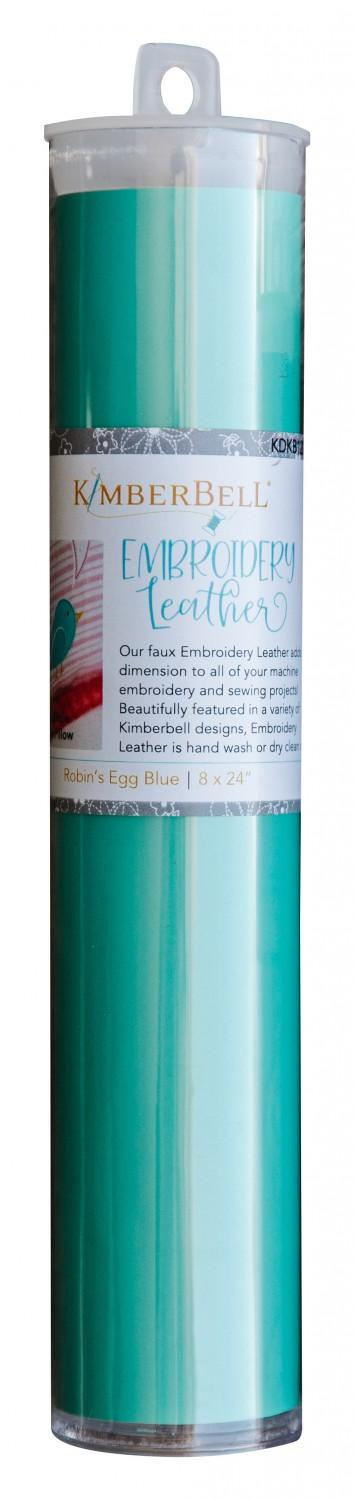 Kimberbell Embroidery Leather - Robin's Egg Blue    KDKB1202