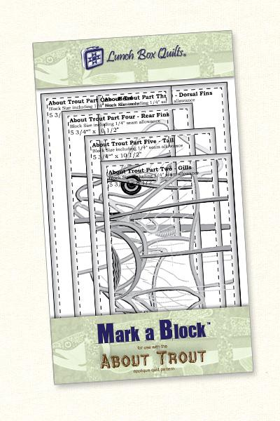 Mark-A-Block About Trout    MB-AT-1