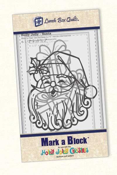Mark-A-Block Holly Jolly Christmas   MB-HJ-1