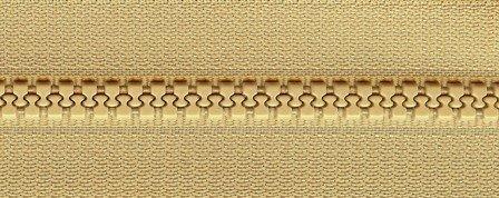 1 Way Separating 24 Zipper - Greige    PSZ026