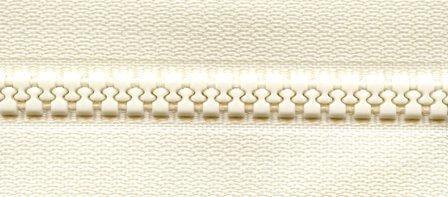 1 Way 24  Separating Zipper - Creme  PSZ034