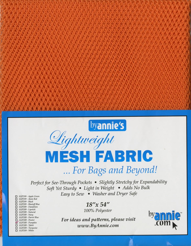 Mesh Lite Weight - Pumpkin 18in x 54in SUP209-PUMP