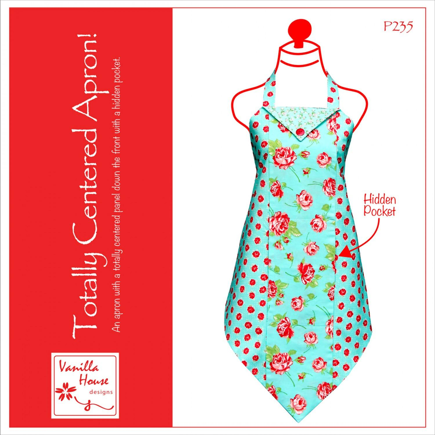 Totally Centered Apron Pattern