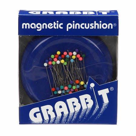Grabbit Magnetic Pincushion - Blue     GRABITBLUE