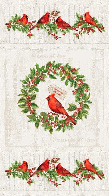 Cardinal Woods - Panel