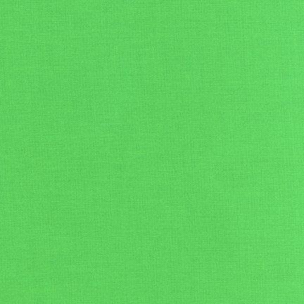 Kaufman Kona Solid - Kiwi
