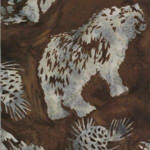 Bear and Pinecones - Cedar
