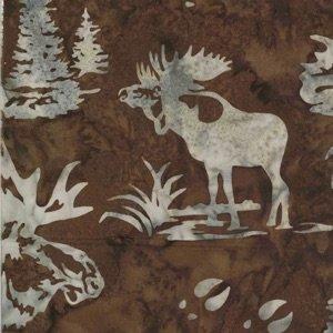 Moose and Prints - Cedar