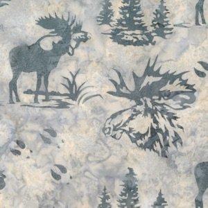 Moose and Prints - December