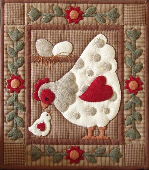 Spotty Hen