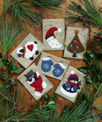 Woolen Gift Bag Ornaments
