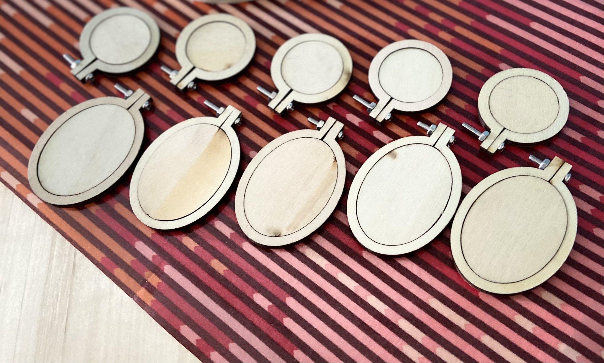 10 pc Tiny Hoop Set