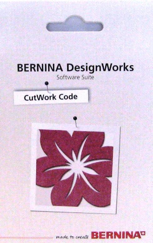 CutWork Code Card