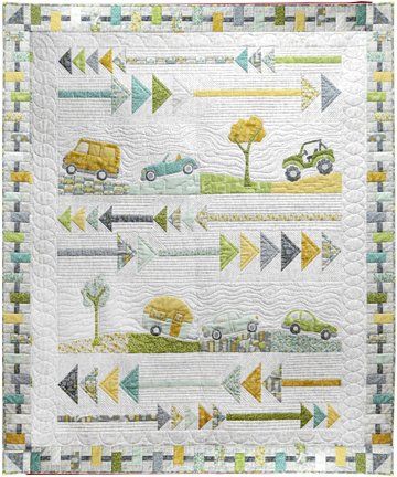 Road Trippin Quilt kit
