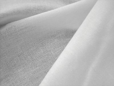 Woven Fusible Interfacing White 45
