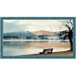 QT Artworks lake Panel-Blue
