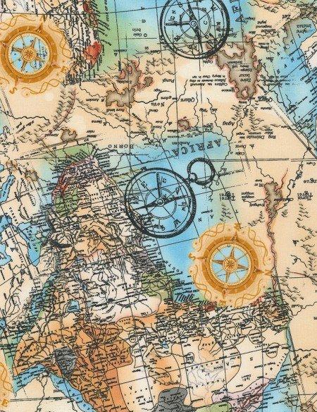 TT World Map Wild-C7234