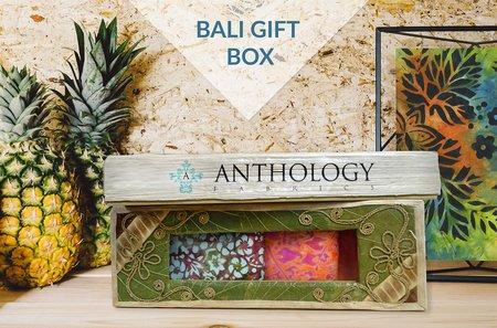 Bali Gift Box/3  Batik Fat Quarters