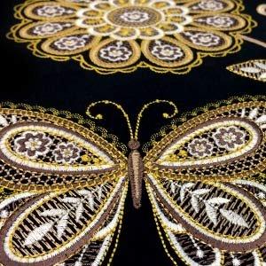 Metallic Lace Design Disc