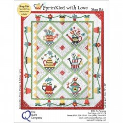 Sprinkled with Love Pre-cut Block of the Month Quilt Kit