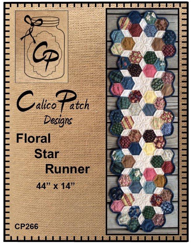 Floral Star Runner