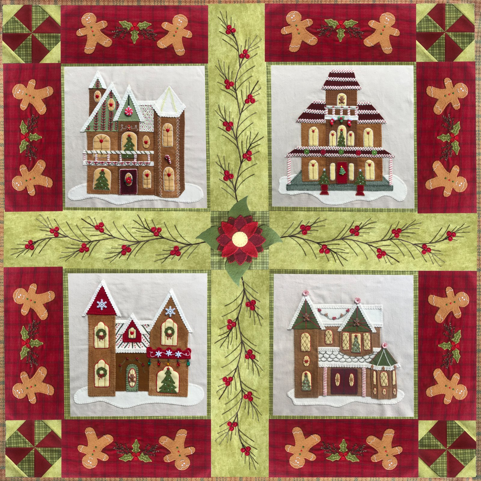 Gingerbread Stitches EMBELLISHMENT Packs