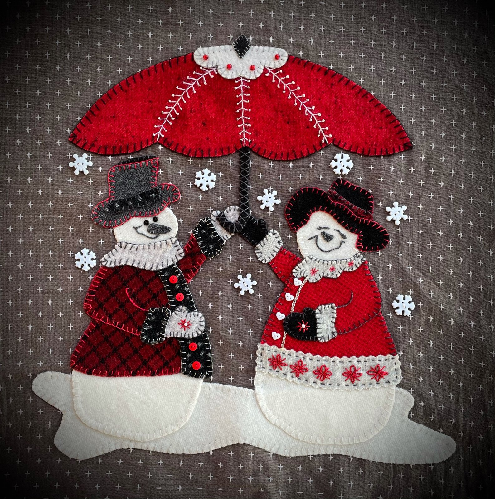 Snow Much Joy FREE Pattern Digital Download
