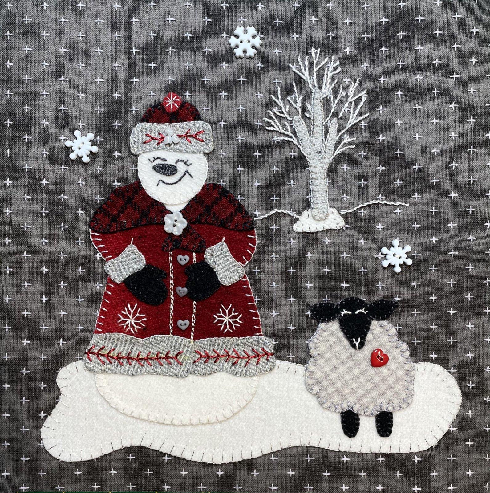 Snow Much Joy Block 3 Digital Download Pattern