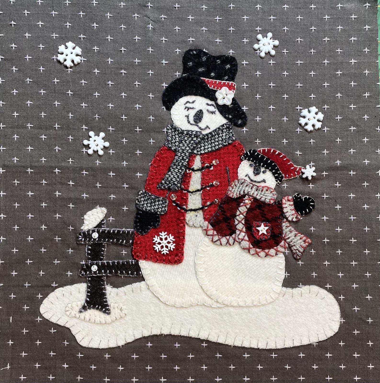 Snow Much Joy Block 5 Digital Download Pattern