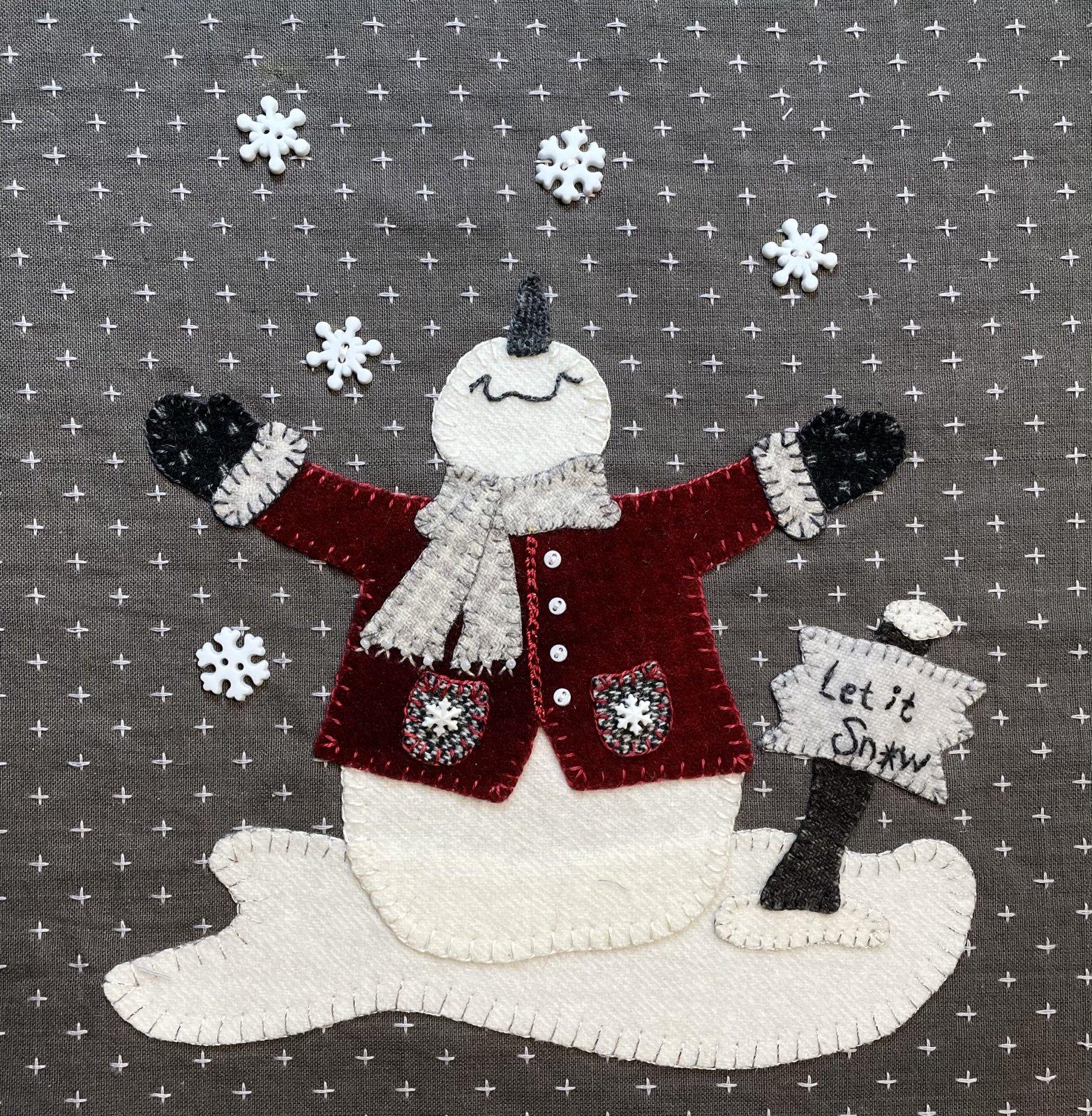 Snow Much Joy Block 2 FREE Digital Download Pattern