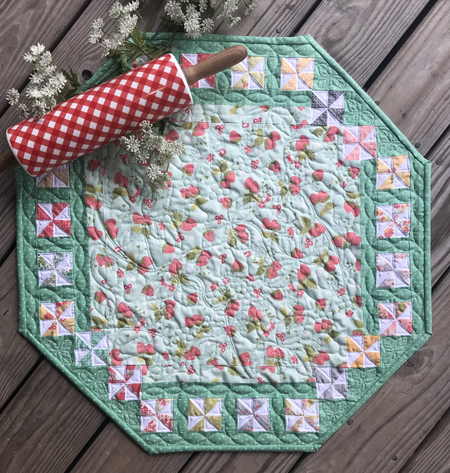 Charm-Ing Table Topper