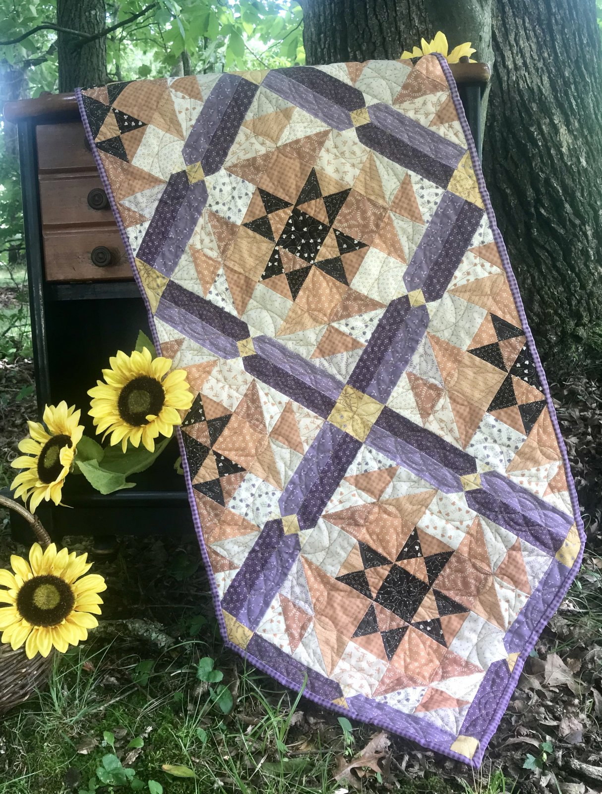 Patches of Fall Table Runner