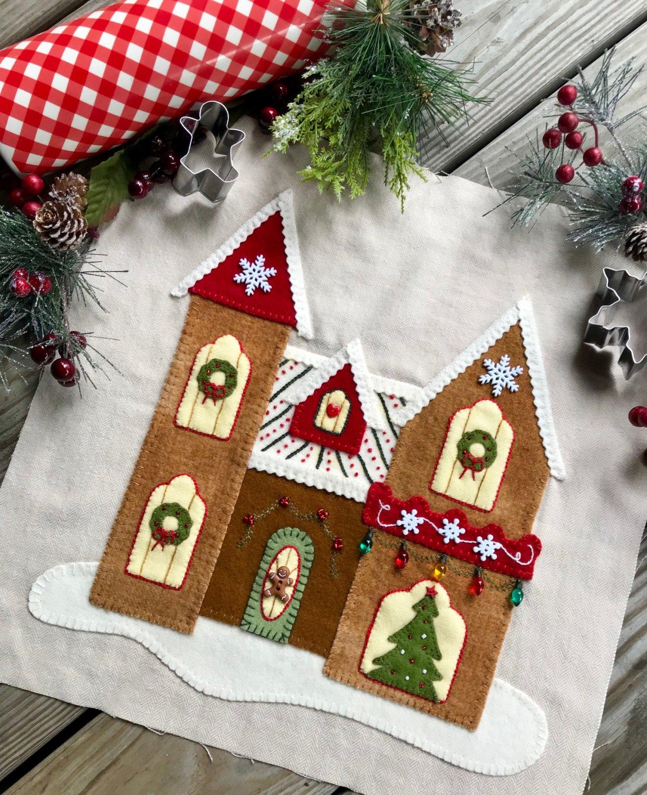 Gingerbread Stitches Block 3 Accessories