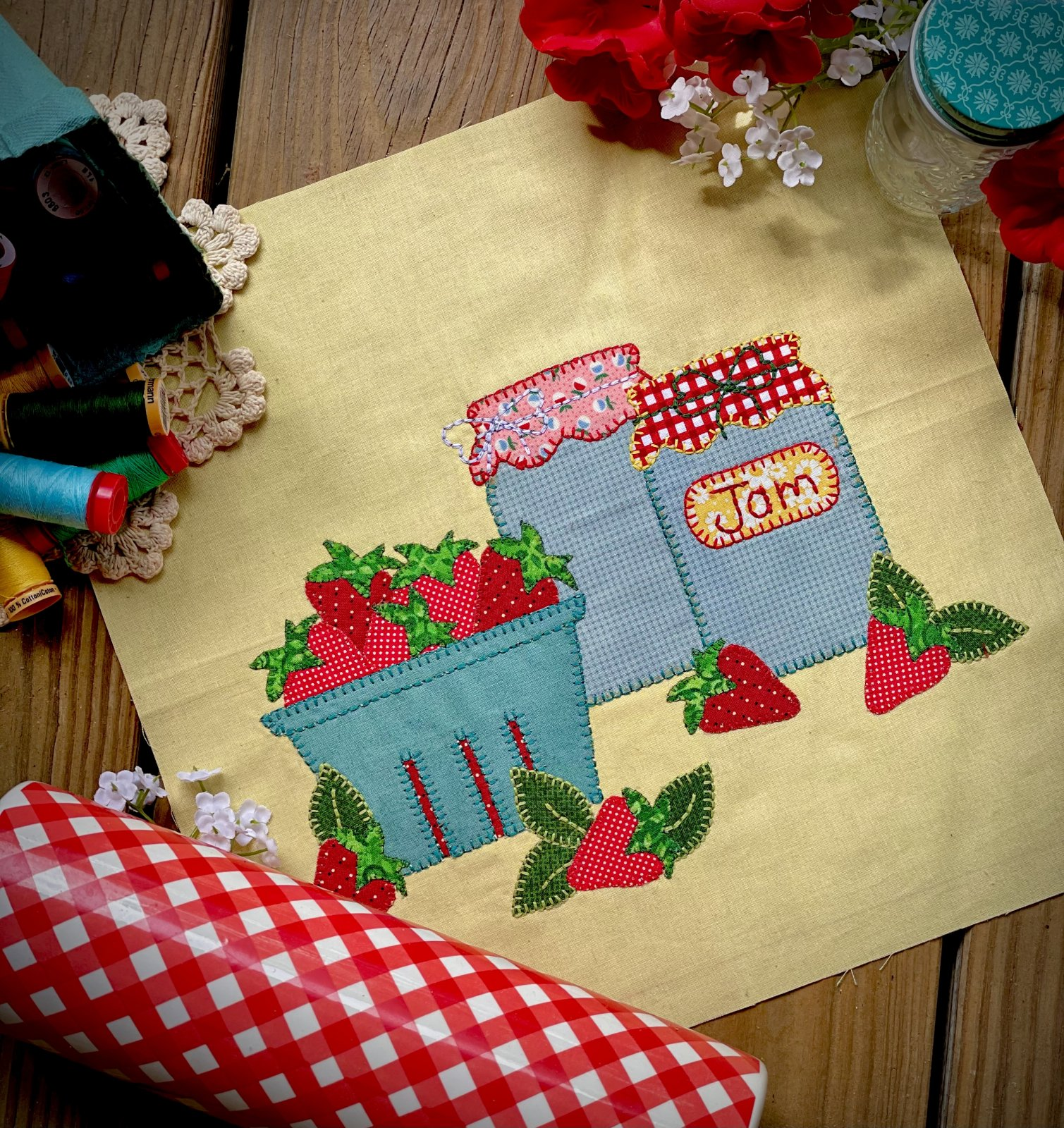 Kitchen Stitchin Block 1 Kit