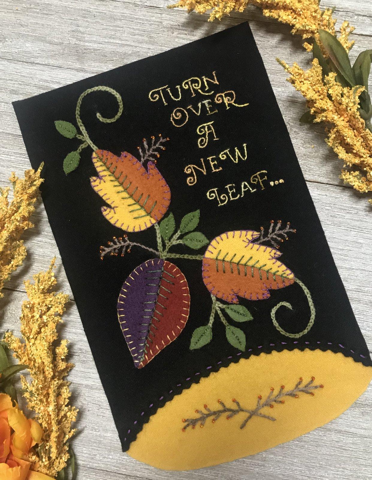 Graceful Words Block 9 New Leaf