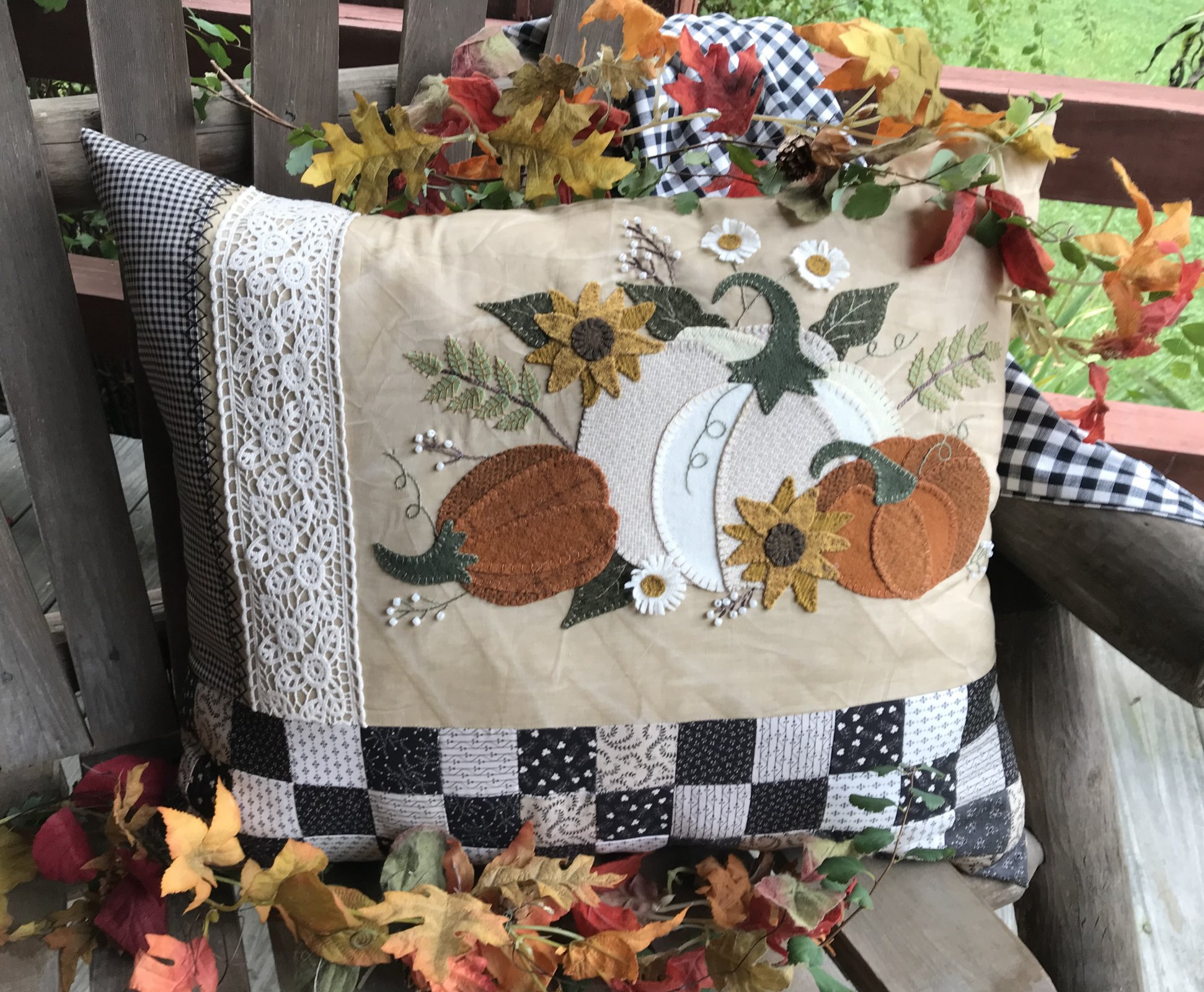 Farmhouse Fall Pillow