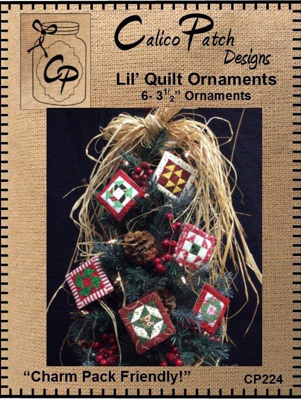 Lil' Quilt Ornaments
