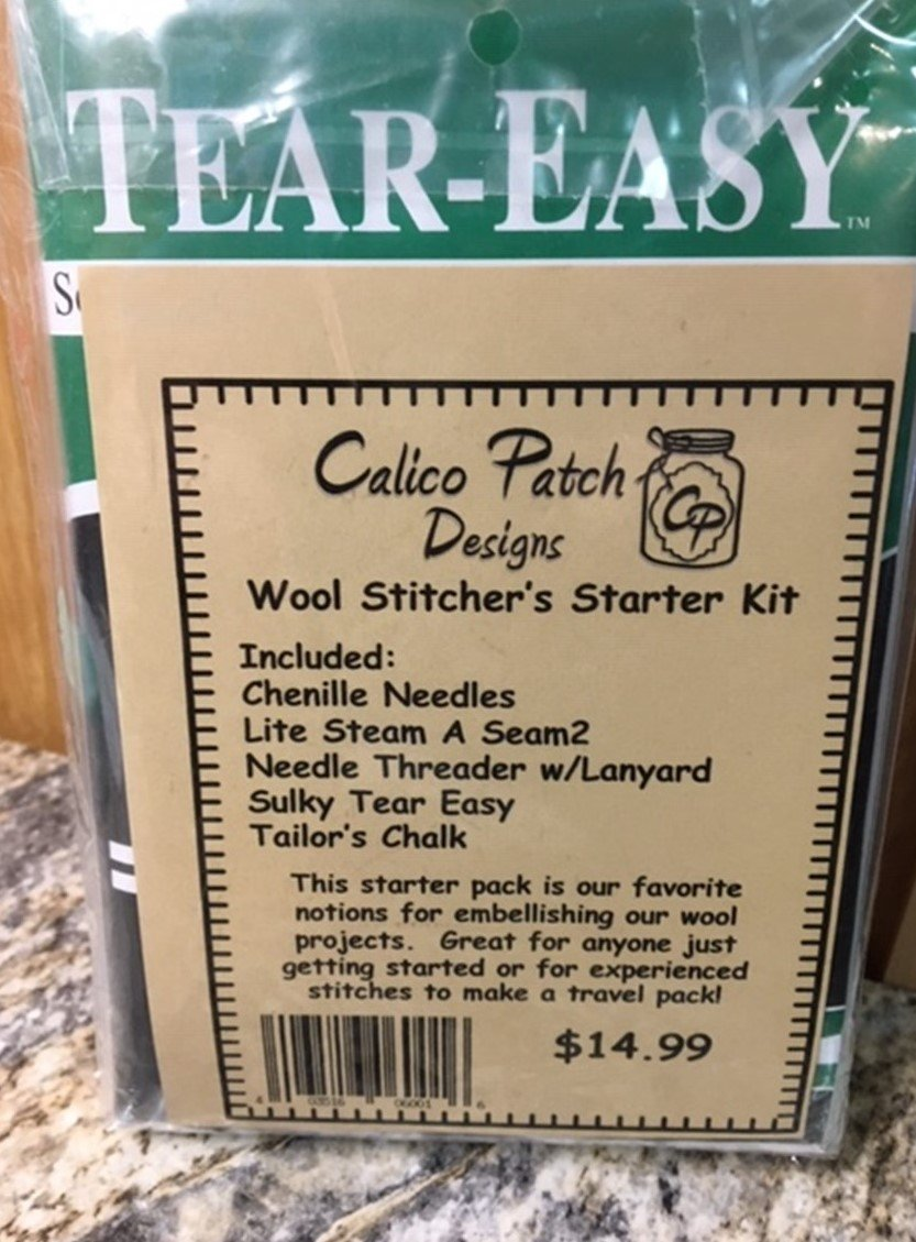 Wool Stitcher's Starter Kit