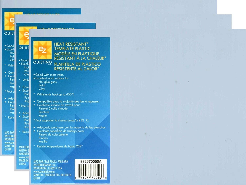 Heat Resistant Mylar Template Plastic Sheet