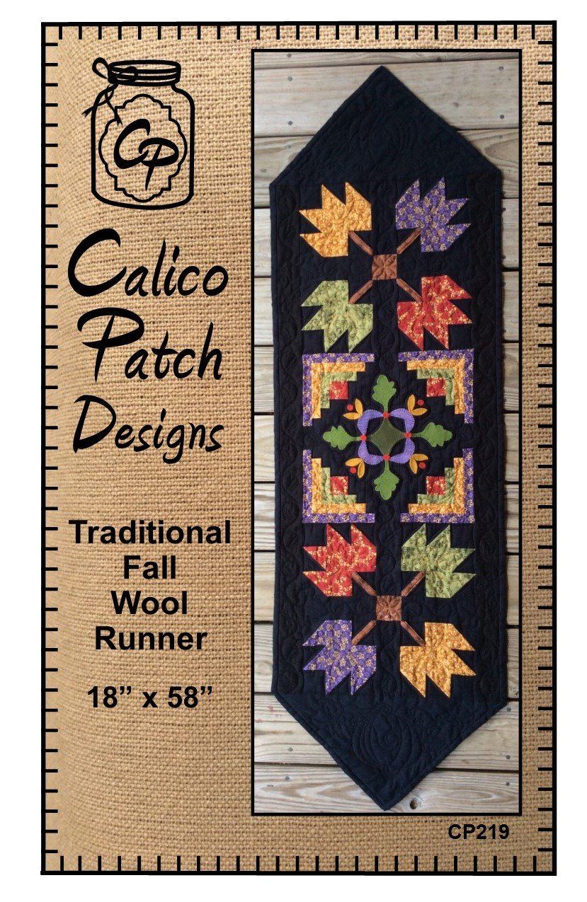 Traditional Fall Wool Runner