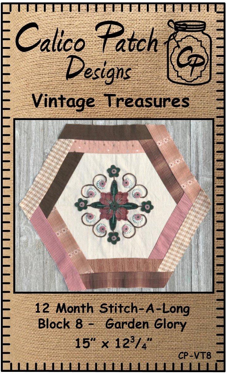 Vintage Treasures Block 8- Garden Glory