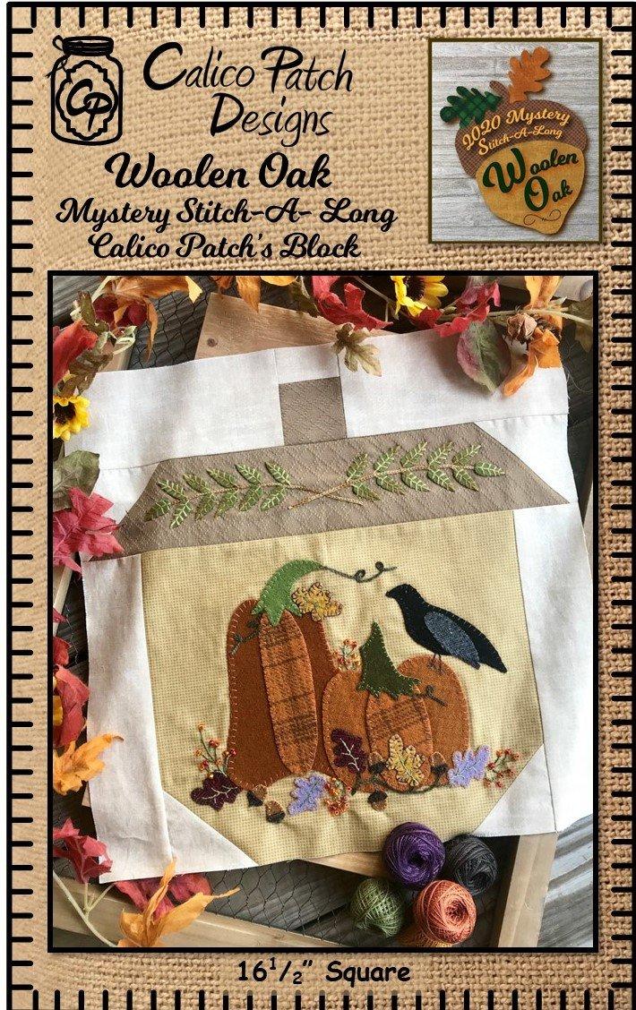 Woolen Oak MSA FREE APPLIQUE Pattern Download