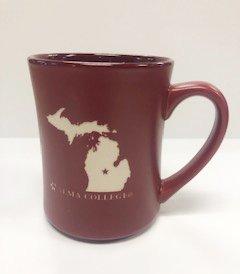 16oz Michigan Map Mug