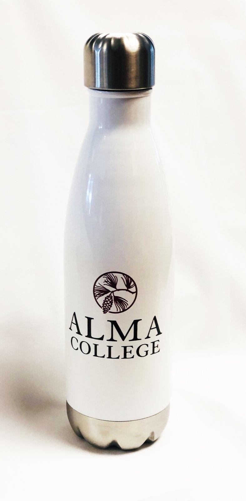 17oz Metal Cap Water Bottle